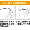 クレー射撃時のサングラス&眼鏡のズレ防止グッズ。