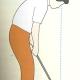 パットのへたなゴルファーは目が悪い?