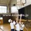 子供のバスケットボールシーンを記念に。
