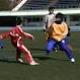 子どものサッカーシーンを記念に。