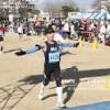 マラソンどきの1シーンを記念に。
