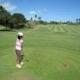 子供のゴルフシーンを記念に