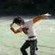 バドルテニスどきの1シーンを記念に。