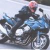 レースどきのバイク使用フレーム アイメトリクス