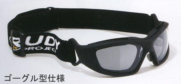 メガネ型とゴーグル型を1つに出来るフレーム