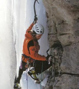 度入りスポーツメガネタイプの登山用で視界良好