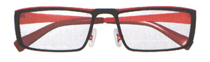 スポーツグラス度入りに適した跳ね上げメガネフレームは、ゴルフ時にとても便利なスポーツメガネ。