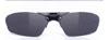 度付きスポーツグラスに適した跳ね上げメガネフレームは、登山時にとても便利なスポーツメガネ。