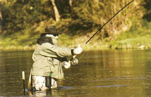釣りどきの偏光グラスは身を守る防具でもあります。