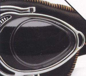 スクーター時のメガネSM:NANNINI イタリア製 HOT ROD度入り対応