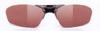 度付きスポーツグラスに適した跳ね上げメガネフレームは、釣り時にとても便利なスポーツメガネ。