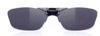度つきスポーツグラスに適した跳ね上げメガネフレームは、ウォーキング時にとても便利なスポーツメガネ。
