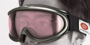 眼鏡の上から掛けるゴーグル