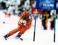 眼鏡の上からスキーも安全