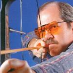 射撃用度つきサングラスはフィールドの状況によってレンズカラーを選ぶ事が大切。