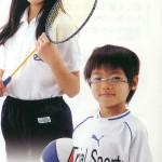 子供スポーツメガネバトミントン