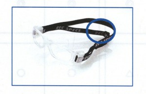 装用時にゴーグル固定のためのベルトの特徴