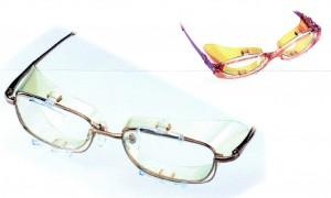 メガネを掛けている方の野球用花粉症対策度付きサングラスの提案