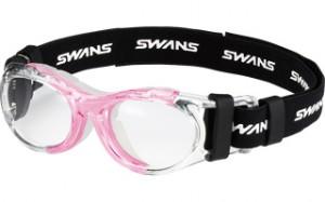 様々なスポーツ競技で使用可能な子供用度付きスポーツメガネ