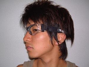 ドッジボール保護眼鏡