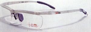野球どきのメガネと普段の眼鏡を兼用フレームRH17907