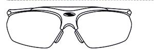 メガネをかけなければならない方にスポーツに適した度付きサングラスがあります。