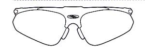 スポーツサングラスには登山に適した登山用度入りサングラス、めがねがあります。