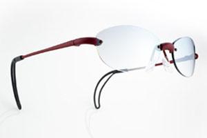 ずれにくいゴルフ用メガネ
