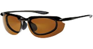 跳ね上げ式度付きサングラスは、遠近両用サングラスとしても便利です。