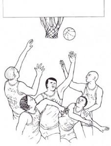 バスケットボール時の目の防護