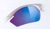 ロードバイク用スポーツサングラスで度入りのサングラスも制作可能です。