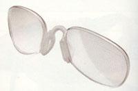 子ども用ゴルフサングラスには、眼鏡が必要な方のために度入り対策のサングラスがあります。