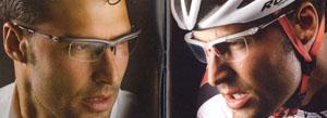 1本のメガネでスポーツオン、スポーツオフを実現したスポーツメガネフレームの登場。