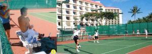 テニスにおけるスポーツサングラス選びは、室外と室内によってテニスサングラス選びが違います。
