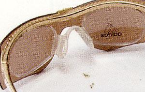 テニス用スポーツサングラスに度つきインナーフレームを装着したスポーツサングラス選び