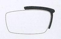 度つきスポーツメガネ、スポーツサングラス、度付きスポーツサングラスを1本の眼鏡対応