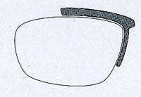 スポーツメガネに、普段メガネと兼用タイプや保護眼鏡タイプやスポーツ用メガネがあります