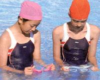 水膜くもり止めゴーグルは使い方を誤ると水中メガネの曇り止め効果が薄れ舞ます。