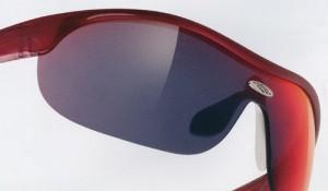 女性用自転車サングラスは、他のスポーツサングラスとしても装用可能なデザインです。