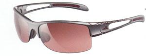 テニスどきの女性用度つきサングラスはフレームカラーが豊富にあります。