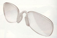 ウォーキング用度付きサングラスは、サングラスの内側にインナーフレームを挿入します。