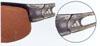 スポーツグラスのゴルフ偏光レンズタイプの数少ないレディース用のサングラスです。