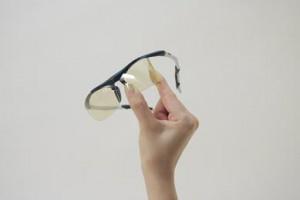 野球用子どもサングラスのレンズの特徴