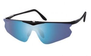 ゴルフ用スポーツサングラスで度付きが可能な跳ね上げ式サングラスはシニアのゴルファーに最適。