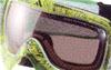 カラフルなスノーボード用度つきゴーグルは、ゴーグルとおしゃれを考慮して設計しました。