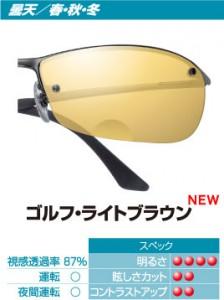 ゴルフ時のメガネ、ゴルフ時のサングラス選びはスポーツグラス専門店にお任せ下さい。