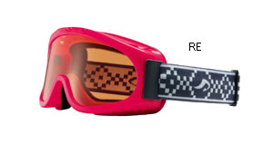 女の子用スキーゴーグル、スノーボードゴーグルに眼鏡をかけたまま装用できるゴーグル。