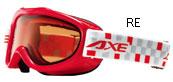 メガネをつけたままでも装着できる子供用スキーゴーグル、スノーボードゴーグルの紹介。