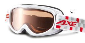 スキー、スノーボードどきの子供用ゴーグルに眼鏡をつけたまま装用できるゴーグルの提案。