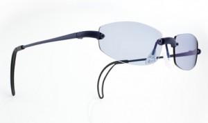 快適なゴルフを楽しむ為のメガネAlg6 Mat Blue - Q1B